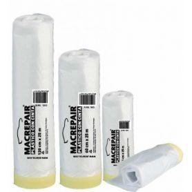 Plastico con cinta adhesiva 80º 90cmx25m Miarco