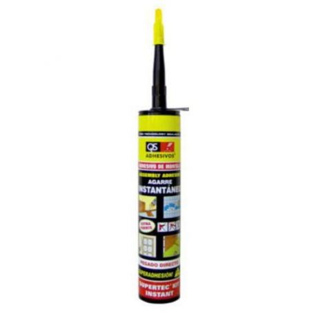 Adhesivo montaje Supertec kit instantaneo 300ml QS-Adhesivos