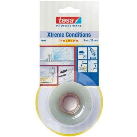 Cinta de reparacion Xtreme Conditions 4600 3m x 25mm transparnte Tesa