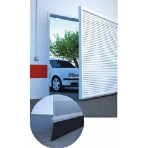 Burlete bajo puerta garaje r gido blanco 3m 2x1 5 miarco - Burletes para puertas de garaje ...