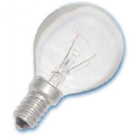 Lámpara Esferica E14 Clara 25W Gsc Evolution