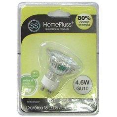 Lámpara 18 Leds GU10 4.6W 4200K GSC Evolution