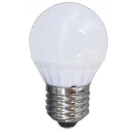 Lámpara esférica Led E27 5W 6000K GSC Evolution