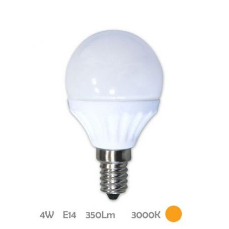 Lámpara Esférica Led E14 4W 3000K Libertina GSC Evolution