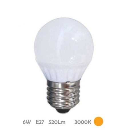 Lámpara Esférica Led E27 6W 3000K Libertina GSC Evolution