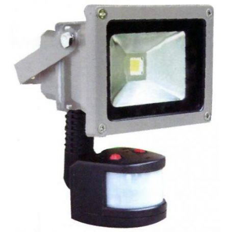 Proyector Led Ultrabrillo con sensor IP65 10W 700Lm 6000K GSC Evolution