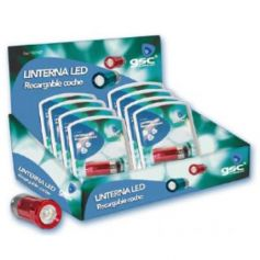 Linterna led recargable mechero coche 1 unidad GSC Evolution