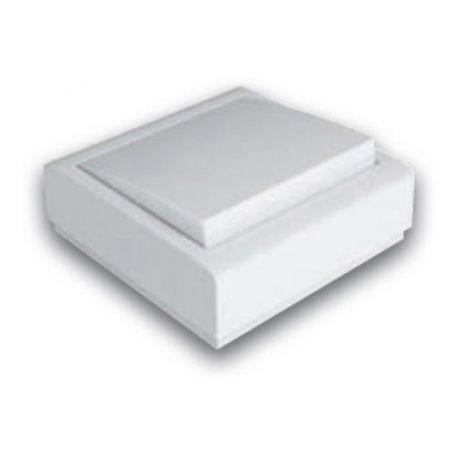 Conmutador superficie 10A-250V blanco Famatel