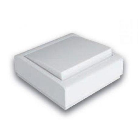 Pulsador luz superficie 10A-250V blanco Famatel