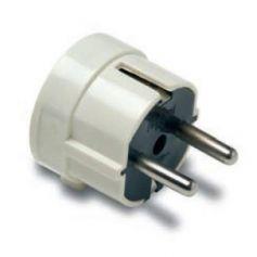 Clavija salida lateral con TT 16A-250V diámetro 4.8 Famatel
