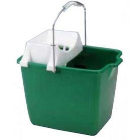 Cubo rectangular 15 litros con escurridor Barbosa