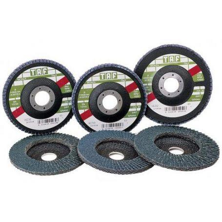 Disco de laminas zirconio 125x22 Taf Vez 52 grano 40