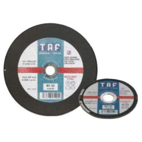 Disco de corte plano metal 125x1x22Taf BIT40 CA6R