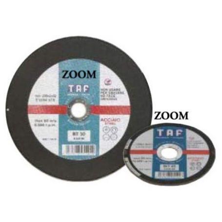 Disco para corte plano metal 115x1x22 Taf ZOOM75 BA46R