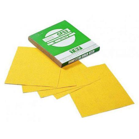 Hojas de papel abrasivo en corindon 230x280 Taf CF53 grano 40