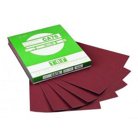 Hoja papel resinada en corindon 230x280 TAF CA76 grano 60