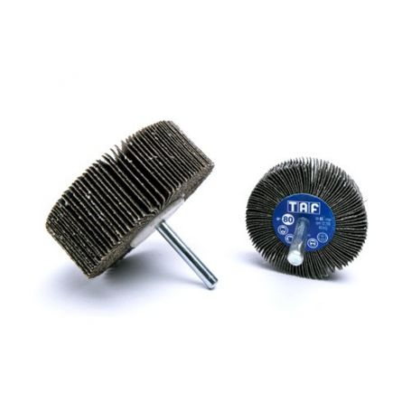 Cepillo de laminas con vastago 30x15x6 Taf RG17 grano 60