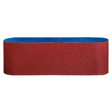 Banda de lija Bosch para madera 75x457 grano 80 3 unidades