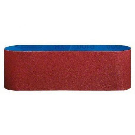 Banda de lija Bosch para madera 75x457 grano 120 3 unidades