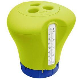 Dispensador de cloro Thermo-Klor con termometro Kokido