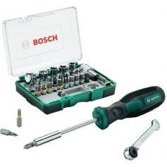 Set de 27 piezas atornillar+atornillador manual Bosch