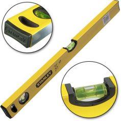 Nivel aluminio amarillo 60cm Stanley