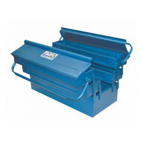 Caja de herramientas de metal 5C 430x200x210mm Mercatools