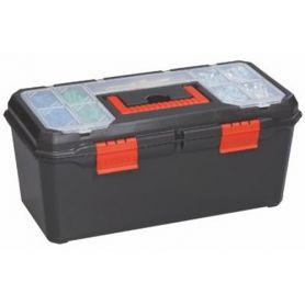 "Caja herramientas plástico 19"" 480x230x230 Mercatools"
