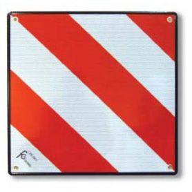 Placa señal carga V20 500x500mm aluminio Flores Cortés