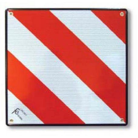 Placa señal carga 500x500mm aluminio FCDB