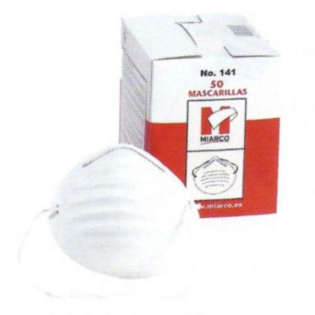 Mascarilla desechable sencilla caja 50 unidades Miarco