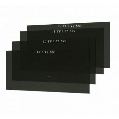 Cristales filtrantes para soldar rectangulares 55x110 Personna modelo 555 DIN12
