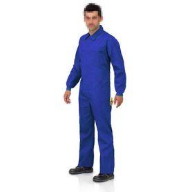 Buzo cremallera con tapeta L500 azulina talla 58 Vesin