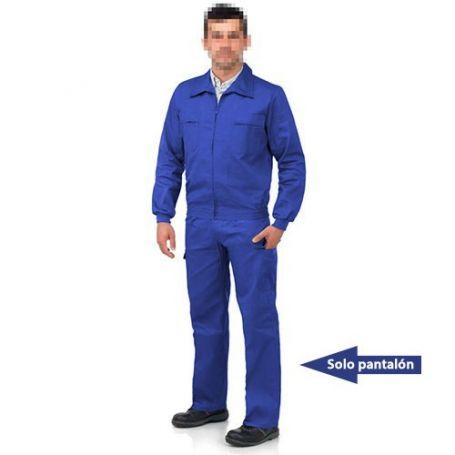 Pantalón multibolsillos goma tergal L500 azulina talla 40 Vesin