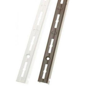 Cremallera 6000 Simple 200cm gris metalizado juego de 2 piezas Amig