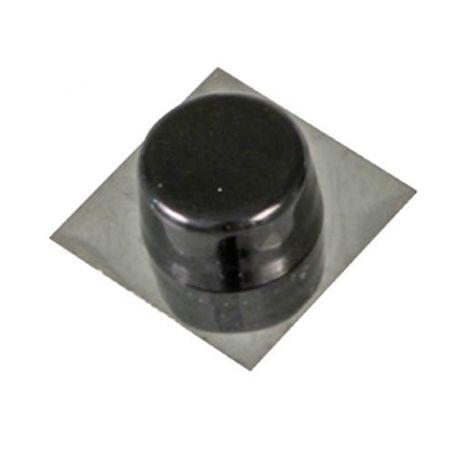 Tope puerta adhesivo negro modelo 405 Amig