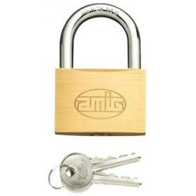 Candado arco normal Amig 1 20mm laton mate blister