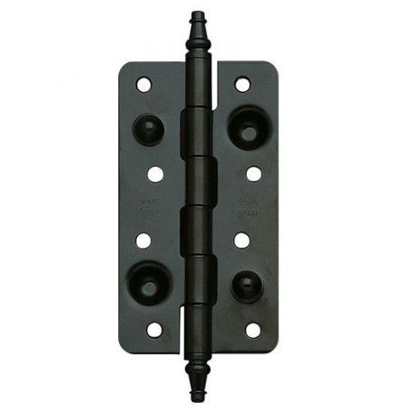 Bisagra de seguridad modelo 566 150x80mm negro exposy mate Amig