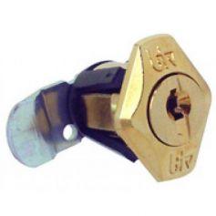 Cerradura buzón Mercurio dorado modelo 60412 BTV