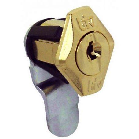 Cerradura buzón Aneto dorado modelo 60413 BTV