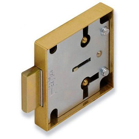 Cerradura de sobreponer para mueble modelo 1207 de 25mm Urko
