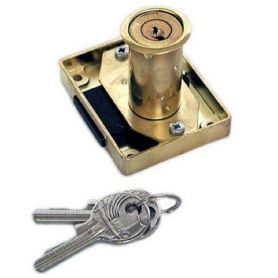 Cerradura de bombillo para mueble modelo 23-R de 25mm urko