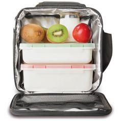 Bolsa porta alimentos Soft con 2 contenedores Valira