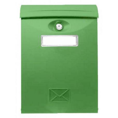 Buzon exterior policarbonato 26 verde 24x34cm Tefer
