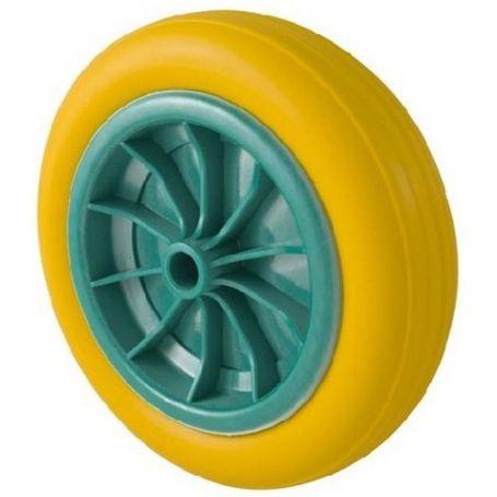 Rueda impinchable para carro almacen con rodamientos de 20mm Tefer