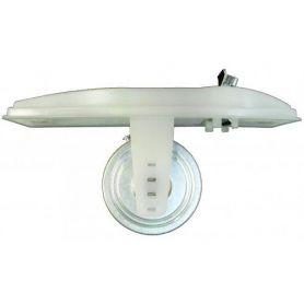 Recogedor cinta persiana C14 para embutir plástico blanco Tefer