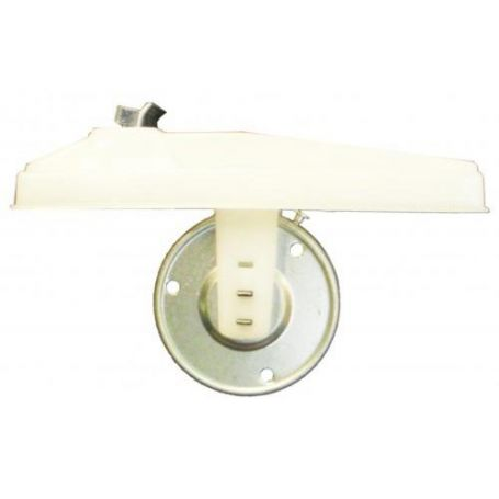 Recogedor cinta persiana C14 para embutir plástico pequeño blanco Tefer