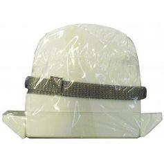 Recogedor mini cinta de persiana C-14 plástico blanco con 6m de cinta Tefer