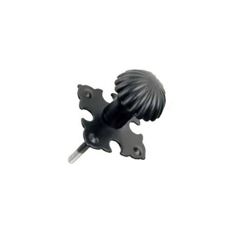 Pomo tirador con rosca 24mm negro modelo 500 Emilio Tortajada
