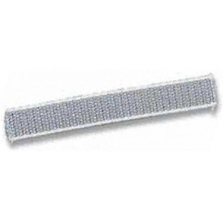 Cinta para persiana gris con cantos blancos 22mm 50m. Cinbet